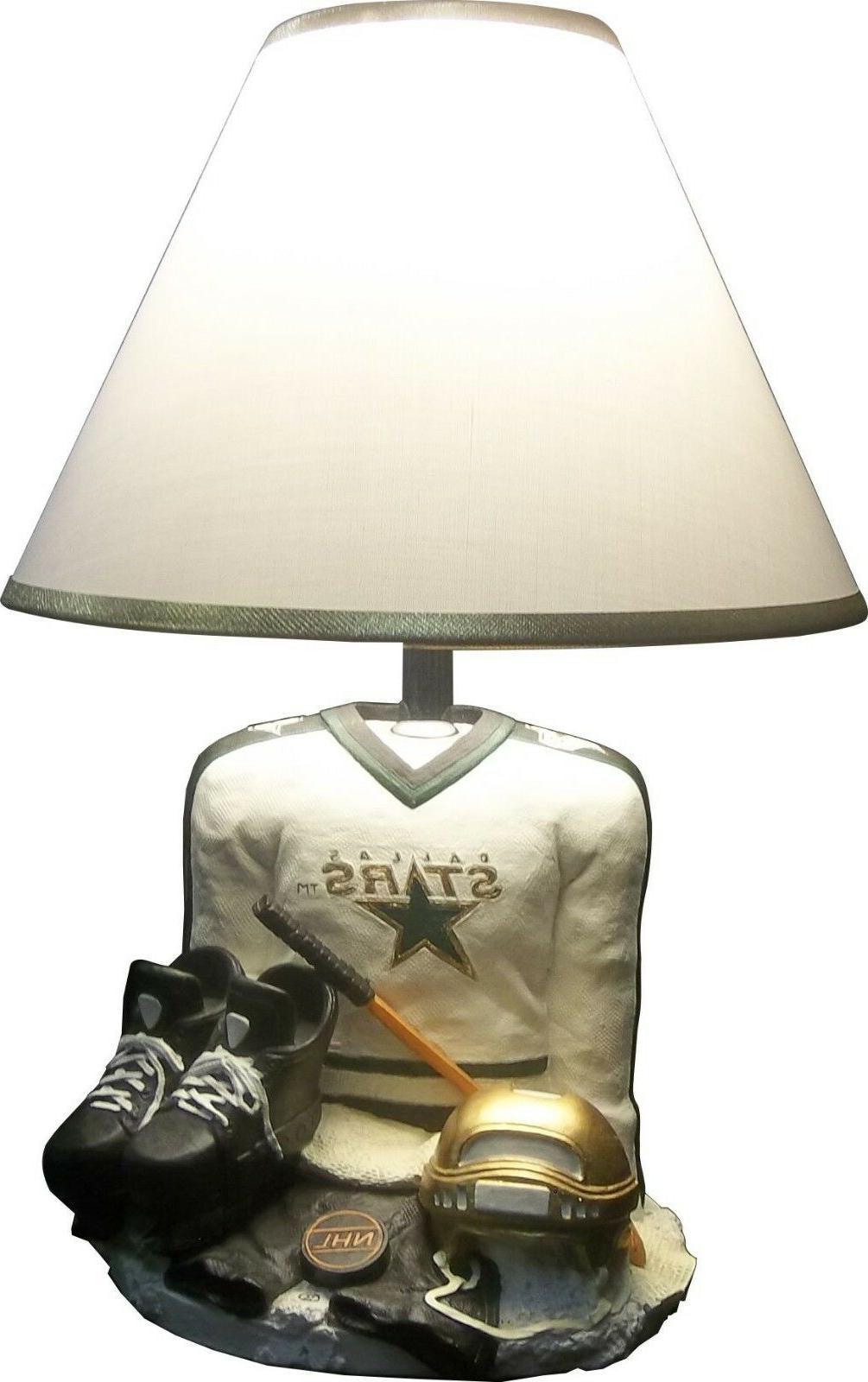 DALLAS NHL DESK LAMP BASE