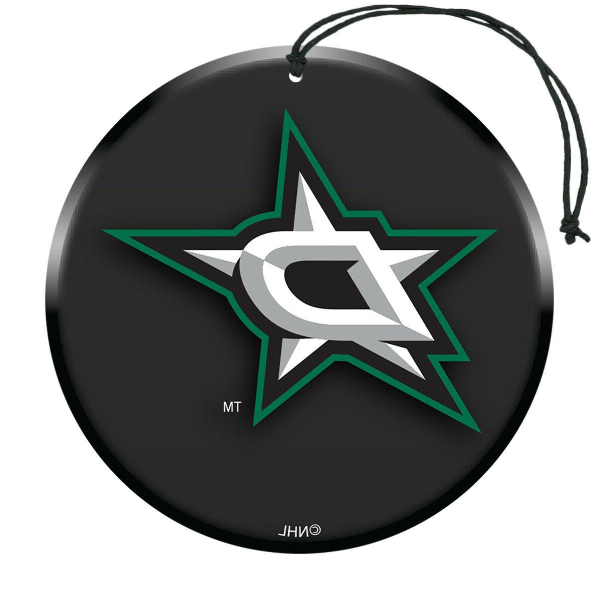 nhl dallas stars air freshener 3 pack