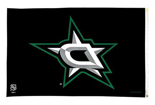 nhl dallas stars banner flag