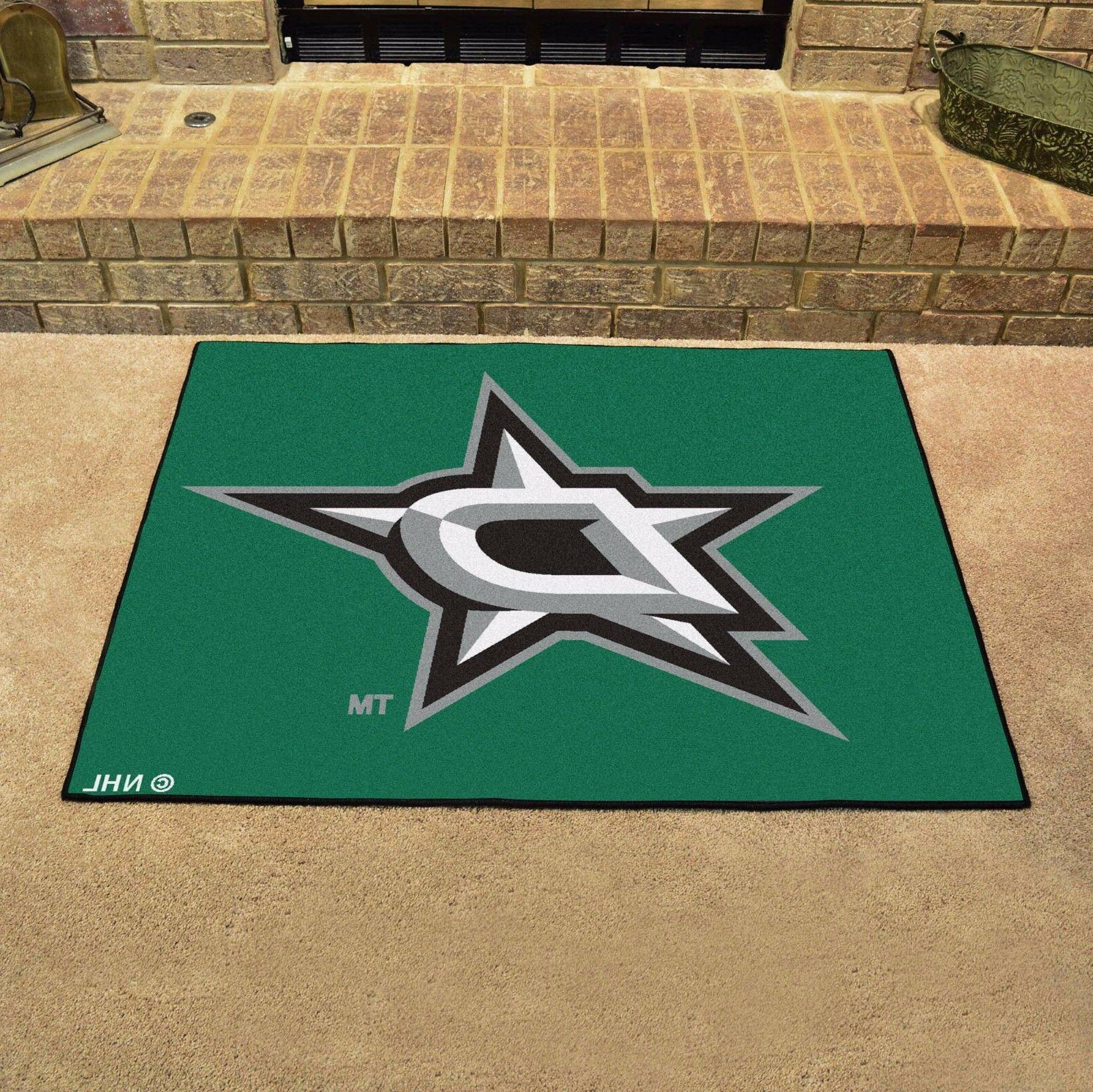 NHL Dallas Stars Starter Doormat, 2'10 x 3'8.5