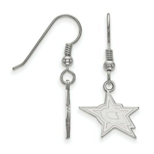 sterling silver nhl dallas stars small dangle
