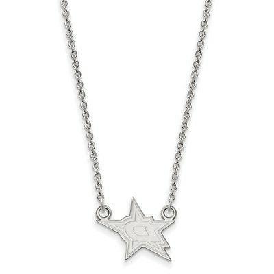 sterling silver nhl dallas stars small pendant