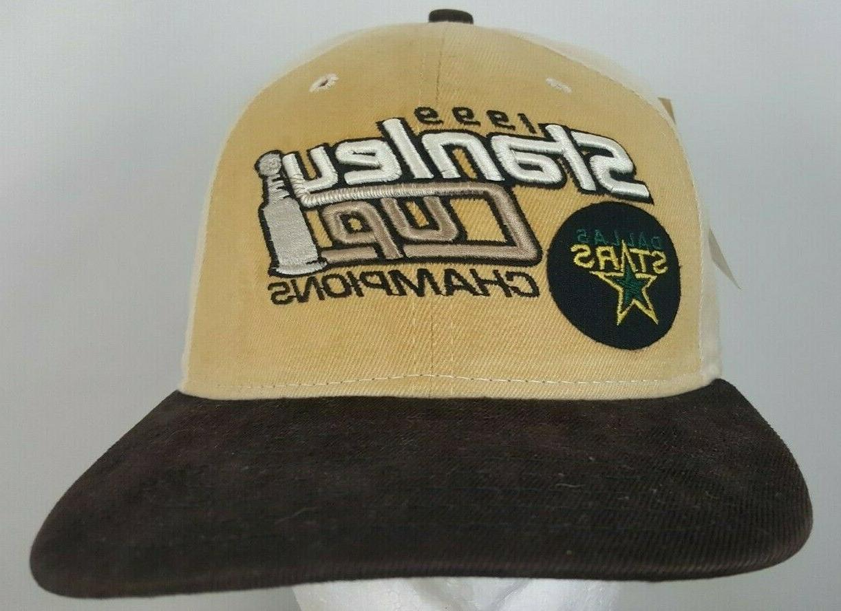 vintage dallas stars nhl champions 1999 snapback
