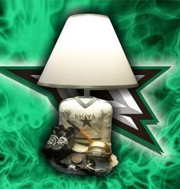 DALLAS STARS NHL DESK LAMP - UNIFORM BASE