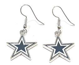 New Dallas Cowboys Star Earrings