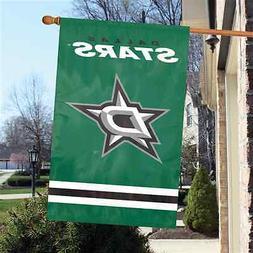 "NHL Dallas Stars 2 sided 44"" x 28"" Applique & Banner, Flag."