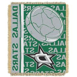 NHL Dallas Stars 48 x 60-Inch Double Play Jacquard Triple Wo