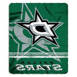 NHL Dallas Stars NHL fade Away 50 by 60 Printed fleece Throw