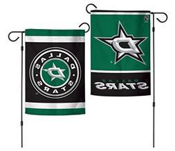"""WinCraft NHL Dallas Stars 12.5"""" x 18"""" Inch 2-Sided Garden Fl"""