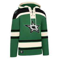 NHL Dallas Stars 47 Brand Lacer Hoodie Sweat Top Sweater Jum