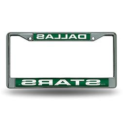 NHL Dallas Stars Laser Cut Chrome Plate Frame
