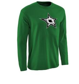 NHL Dallas Stars Long Sleeve Hockey Shirt New Mens Sizes