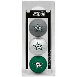 NHL Dallas Stars Regulation Golf Balls 3 Pack Sleeve Putting