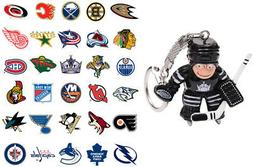 NHL Goalie Keychain - Choose Your Team