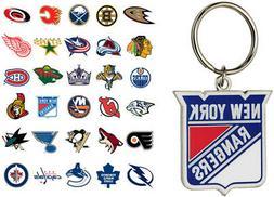 NHL Logo Keychain - Choose Your Team
