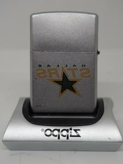 Rare Retired  NHL Dallas Stars Zippo Lighter