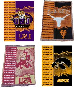 The Northwest Company NCAA / NHL Jagged Throw Blanket
