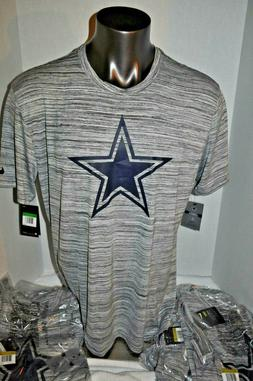 "Nike ""The Nike Tee"" Dallas Cowboys Star Gridiron Grey NFL T"