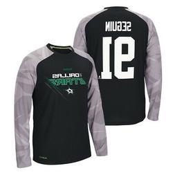 Tyler Seguin Reebok Dallas Stars PlayDry Long Sleeve T-Shirt