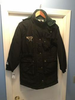 Vintage Starter Dallas Stars Puffy Trench Coat Men's Jacke